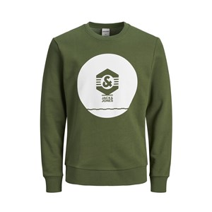 Jack Jones Sweat Known Crew Neck -Mos