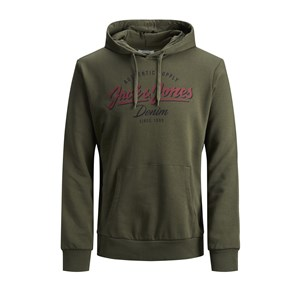 Jack Jones Sweat Hood Logo