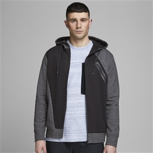 Jack Jones Sweat Zip Hood Gloria